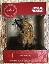 2020 Hallmark Red Box Christmas Tree Ornament Star Wars Chewbacca - New