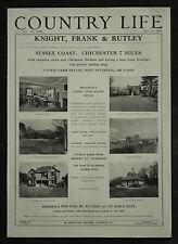 Courts Farm Sussex Rookwood Lane House Estate Agent Detail 1954 1 Page Advert