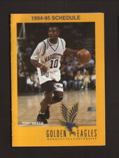Marquette Golden Eagles--1994-95 Basketball Pocket Schedule--Pabst Genuine Draft