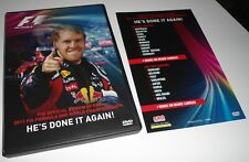 2011 FIA Formula One 1 F1 World Championship Official Review (2 DVD) Car Race