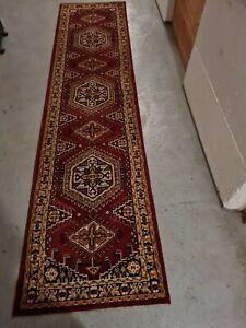 Läufer Orient Art Antik Perser Kunst Vintage Alt Afgah 330×80 cm