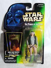 Star Wars Power Of The Force Rebel Fleet Trooper Figure kenner 1997 Aus Seller