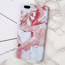Ultra Slim Marble Pattern Hard Back Case Cover for Apple iPhone 6 6s 7 8 Plus