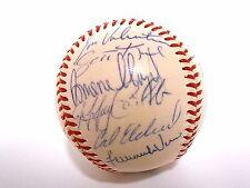 Darryl Hamilton Fernando Vina 1995 Brewers Team Signed Autographed Baseball Ball