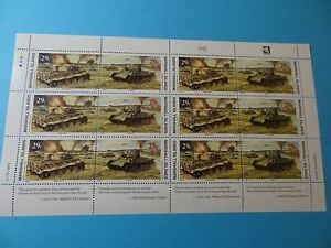 MH Marshall Islands * SC 336-37 WWII Battle of Kursk * MNH Sheet 12 *  W59