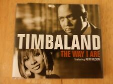 Timbaland Featuring Keri Hilson ‎– The Way I Are - CD Single
