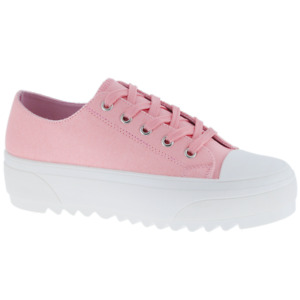 [NEW] Women's Fashion Sneakers Canvas Low Top High Top Lace Up Casual Shoes