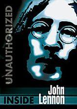 INSIDE JOHN LENNON UNAUTHORIZED BIOGRAPHY JOHN LENNON NEW SEALED DVD