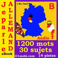 Je parle Allemand (avec Mozart) pour voyage et apprentissage MP3 sur SD
