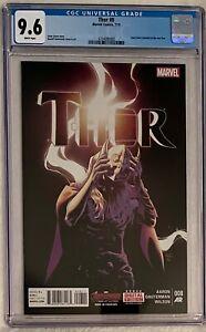 Thor #8 (2015), CGC 9.6, Lady Thor revealed as Jane Foster