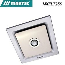 MARTEC Tetra Silver Exhaust Fan With Light MXFLT25S