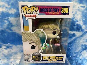 Funko Pop! DC Heroes Birds of Prey - Harley Quinn and Beaver Vinyl Figure #308