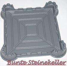 LEGO® Ritter Burg 3D Grund Bau Platte 4 Türme Einsatz für 32x32 & NEU !