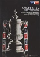 2008 FA CUP FINAL PROGRAMME - PORTSMOUTH v CARDIFF CITY
