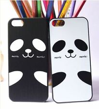 iPhone 5s Case with Cute Panada Design/ 2pcs/ Black & White for Valentines Gift