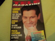 """TELE MAGAZINE N°2269 - 1999"" Laurent GERRA, Monica BELLUCCI, Axelle RED"