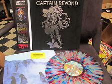 CAPTAIN BEYOND - Self Titled Splatter Lp VELVET Cover Prog  Rock Caldwell Evans