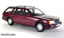BoS Mercedes Benz 300 TE Estate Wagon Dark Red 1:18 Now in Stock!*Last One!
