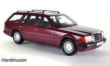 BoS Mercedes Benz 300 TE Estate Wagon Dark Red 1:18 Now in Stock!*Nice Car**