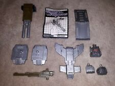 1980's HASBRO G1 TRANSFORMERS WEAPONS LOT - ONSLAUGHT BRUTICUS COMPLETE SET!