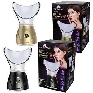 Facial Steamer Digital Face Spa Nose Pores Steam Sprayer Skin Beauty Mist Sauna