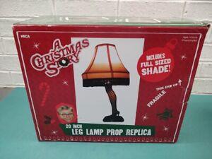 "NECA "" A Christmas Story "" 20 inch Leg Lamp Replica Brand New In Open Box"