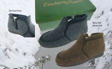 Cosy Comfort  EE MENS BOOTIE SLIPPERS - ZIP Entry       Coolers