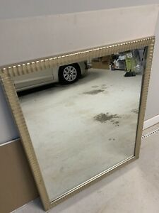 """36x42. Full Length Mirror Rustic Wood Framed Wall-Mounted. 1"""" thick. Beautiful."""