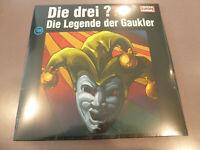 Die Drei ??? Fragezeichen - Die Legende der Gaukler - 2LP Vinyl // Neu // 198
