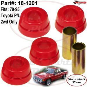 PROTHANE 18-1201 Front Strut Rod Bushing fits 79-95 Toyota Pickup (2wd) Only