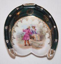 Britannia Porcelain Works, Karlsbad, Austria - Horseshoe Trinket Dish