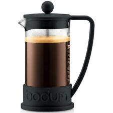 Bodum Brazil French Press Coffee Maker, Black Frame, 0.35 Litre - 3 Cup Capacity