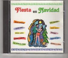 (HK650) Fiesta En Navidad, 10 tracks various artists - 1990 CD