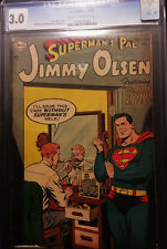 1954 DC Superman's Pal Jimmy Olsen #1 CGC 3.0 Cream to Off White Pages