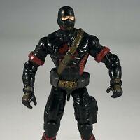 2005 GI Joe Black Dragon Ninja Cobra Ninja Warrior Action Figure Hasbro ARAH