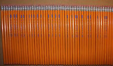 48 Vintage Unused Yellow/Orange Wood No 2 Classic School Pencils Made in USA
