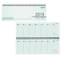 Schreibtisch Kalender / 32 Blatt / Schreibtischquerkalender 2019