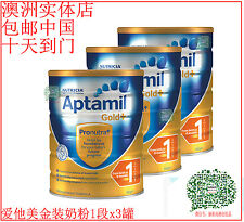 APTAMIL GOLD BABY FORMULA STEP 1 X3 CANS 爱他美婴儿奶粉一段 X三罐 包邮中国