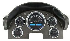 Dakota Digital 56 Ford Car Analog Dash Gauge System Black Alloy Blue VHX-56F-K-B