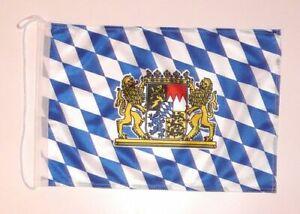 Bootsflagge Freistaat Bayern Löwen Fahne Flagge