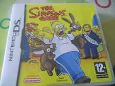 The Simpsons Game (Nintendo DS, 2007) - Complete with booklet and box