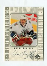 1998-99 SP Authentic Sign of the Times #WG Wayne Gretzky