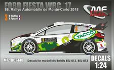 NEW DECALS 1/24 FORD FIESTA WRC - #3 - BOUFFIER - MONTE CARLO 2018 - DC2448