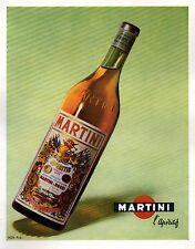 ▬► PUBLICITE ADVERTISING AD MARTINI & Rossi 1955
