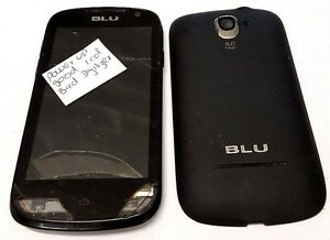 Blu Advance 4.0 D271a Android Unlocked Broken Digitizer Good Display For Parts