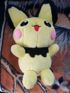 "Vintage Nintendo 2001 Pokemon Large 16"" Tall Pichu Plush Doll ~ Rare Collectible"