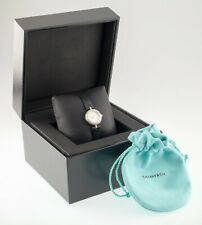 Tiffany & Co 18k White Gold Diamond Watch for Ladies w/ Box and Papers