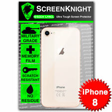 "ScreenKnight Apple iPhone 8 / 4.7"" BACK SCREEN PROTECTOR Military Shield"