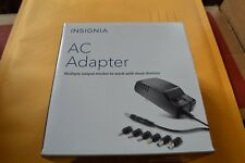 Brand New Insignia AC to DC Power Adapter with 7 Connector Tips NS-AC501