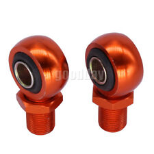 Motorcycle Scooter ATV Shock Absorber Clevis Adapter O Head O-type End Orange